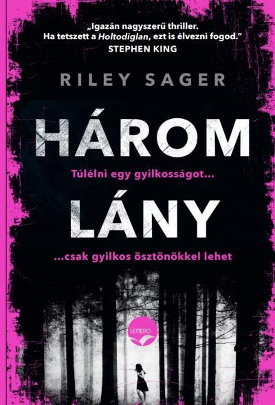 Három lány Book Cover