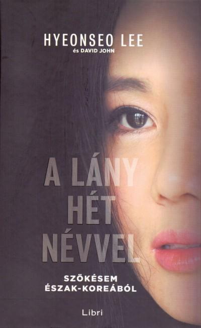 A lány hét névvel Book Cover