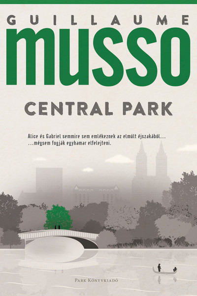 Central Park Book Cover