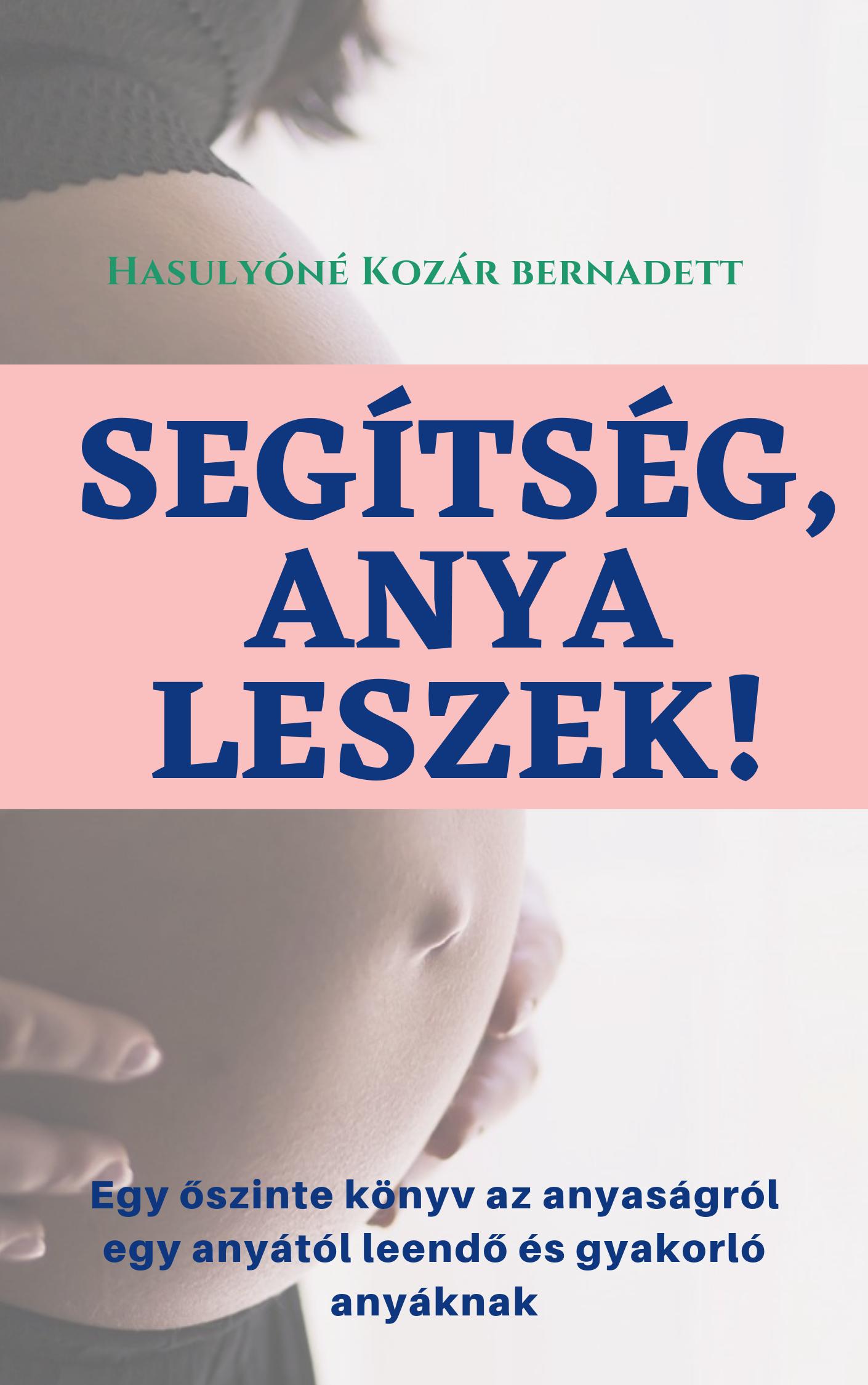 Segítség, anya leszek! Book Cover
