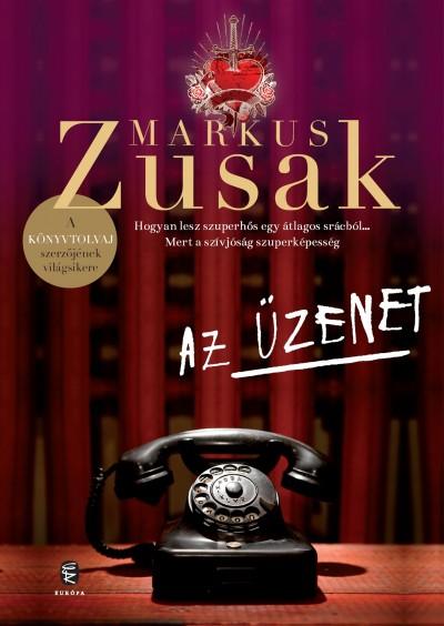 Az üzenet Book Cover