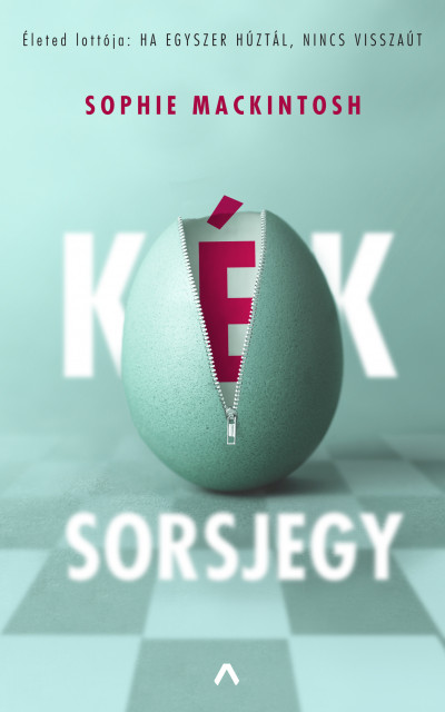 Kék sorsjegy Book Cover
