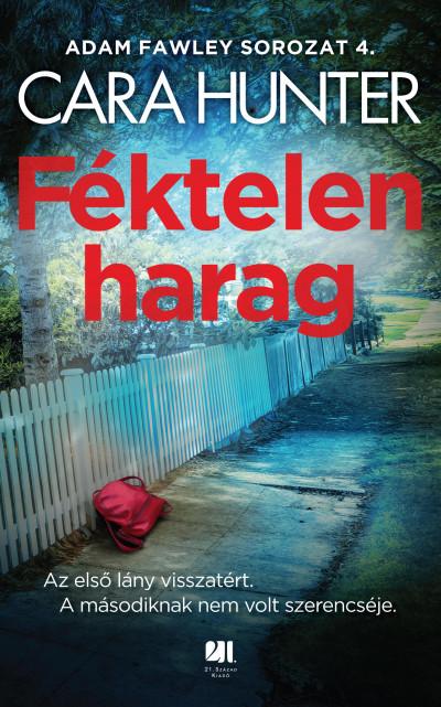 Féktelen harag Book Cover