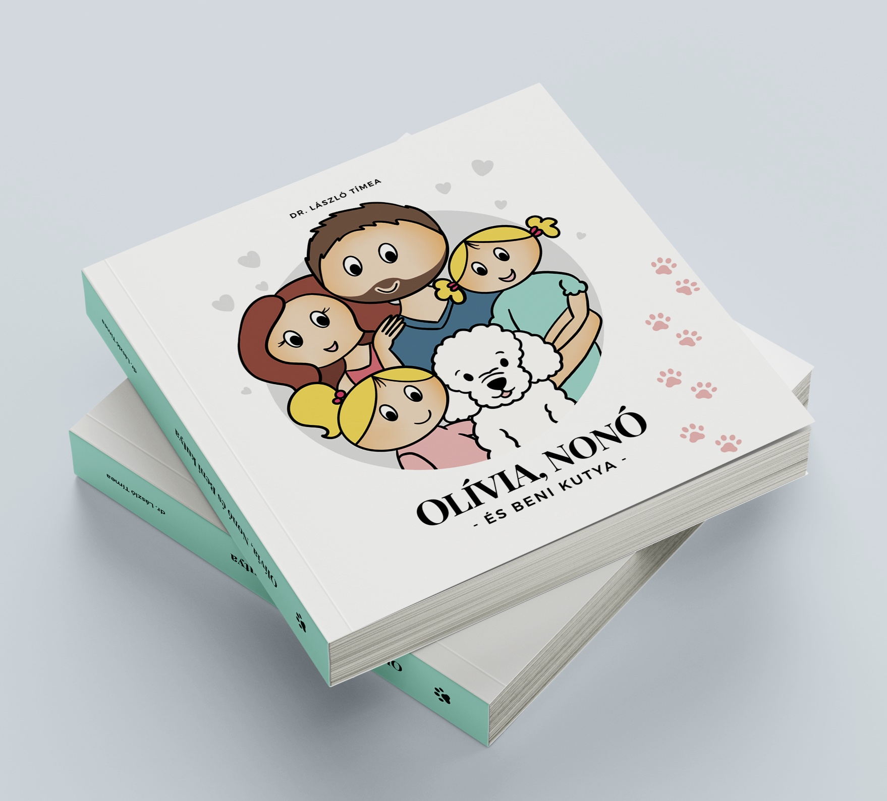 Olívia, Nonó és Beni kutya Book Cover