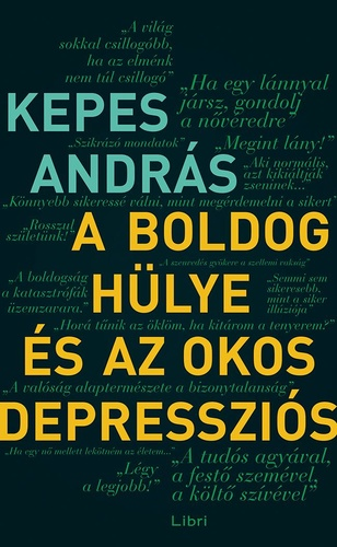 A boldog hülye és az okos depressziós Book Cover