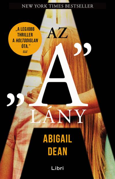 """Az """"A"""" lány Book Cover"""