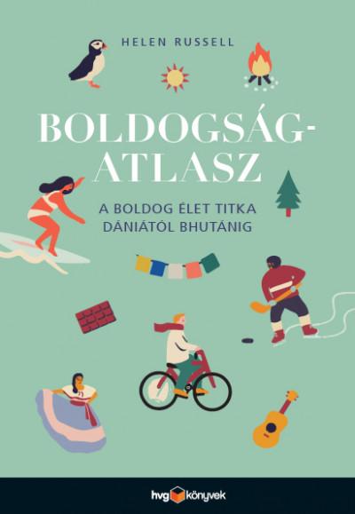 Boldogságatlasz Book Cover