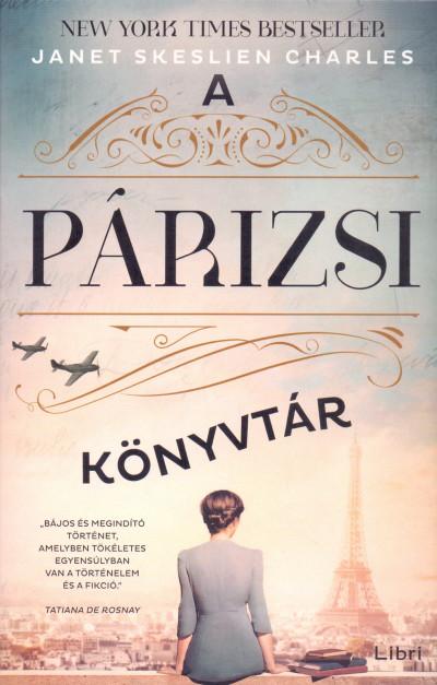 A párizsi könyvtár Book Cover
